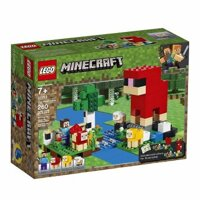 LEGO Minecraft 21153 The Wool Farm – Nông Trại Cừu