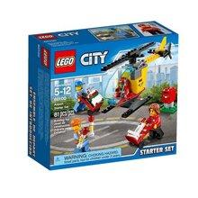 Mô Hình LEGO City - Sân Bay Khởi Đầu 60100 (81 Mảnh Ghép)