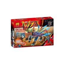 Lắp ráp Ninja Rồng Sấm Sét 403 chi tiết Lele 31085