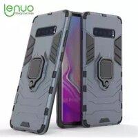 Lenuo Cho Samsung Galaxy S10/S10 Plus/S10E/S8/S8 Plus/S9/S9 Plus Điện Thoại Máy Tính ốp Lưng Nhẫn Điện Thoại Bằng Nhựa Vỏ Bảo Vệ Mặt Sau Áo Giáp Cứng Ốp Lưng