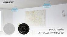 Loa âm trần Virtually Invisible 591