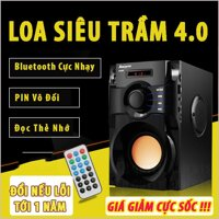 Loa Bluetooth Karaoke Loa Keo Keo Mini Loa Sub Bass Loa Thùng Loa Xacsg Tay Bluetooth RS A100 -  Loa nghe nhạc cao cấp âm thanh 3 in 1 (Hàng Tốt). Nhận Ngay Mã Giảm Giá Khi Mua HÔM NAY
