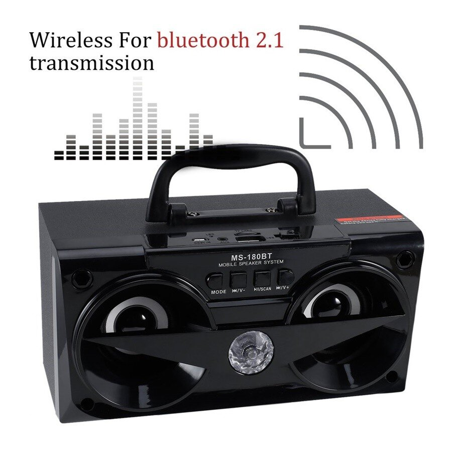 Loa gỗ Bluetooth MS-180BT