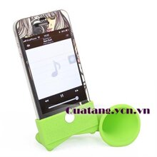 Loa silicon khuếch đại âm thanh cho iPhone 4/4S