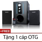 Loa Soundmax A930 (Đen) + Tặng 1 cáp OTG