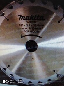 Lưỡi cưa gỗ Makita D-50522 180x22T