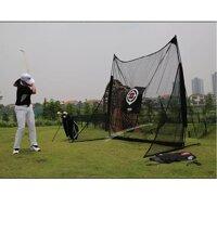 Lưới tập Golf di động 2.5mx2.5m (Đen)