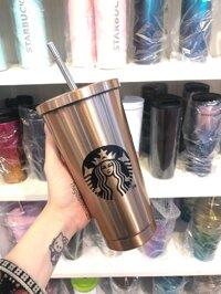 Ly Starbucks Inox Sang Trọng B288