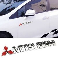 [Mã AUCBT7 giảm 15k đơn bất kì] Logo 3d Dán Trang Trí Xe Hơi Mitsubishi