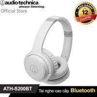 [Mã ELMALL7 giảm 7% đơn 399K] Tai nghe Bluetooth Audio-Technica ATH-S200BT