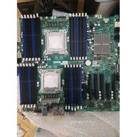 Mainboard  supermicro x9dri-ln4f+  dòng 2cpu cho dân chuyên nghiệp. tặng dây sas