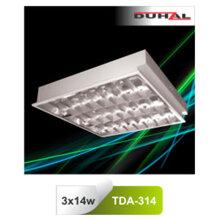 Máng đèn phản quang âm trần T5 Duhal TDA-314 3x14W