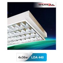 Máng đèn phản quang âm trần T8 3x36W Duhal LDA-340