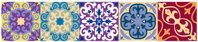 Maroc Cổ Điển Ốp Dán Nhà Bếp Nhà Tắm Dán Tường Trang Trí Dán Tường Vinyl Nhà Decal 5 20X20 Cm livingroom Đồ Nội Thất