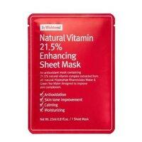 Mặt Nạ Giấy By Wishtrend Natural Vitamin 21.5% Enhancing Sheet Mask