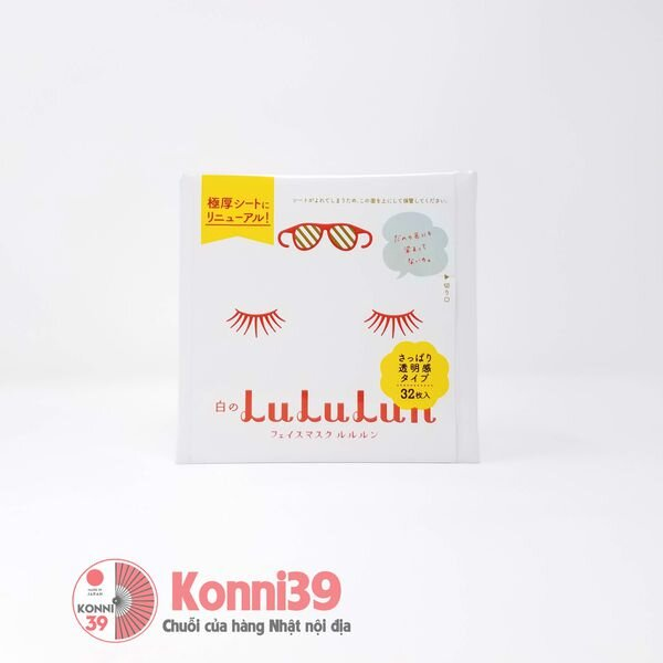 Hộp mặt nạ Lululun Nhật Bản 32 sheets
