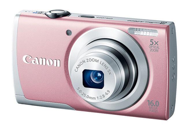 Máy ảnh KTS Canon PowerShort A2600 (Silver)