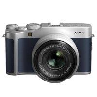 Máy Ảnh Fujifilm X-A7 Kit 15-45mm F 3.5.5.6 OIS PZ (Xanh Navy)
