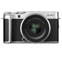 Máy Ảnh Fujifilm X-A7 Kit 15-45mm F 3.5.5.6 OIS PZ (Bạc)