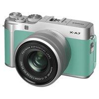 Máy Ảnh Fujifilm X-A7 Kit 15-45mm F 3.5.5.6 OIS PZ (Xanh Bạc Hà)