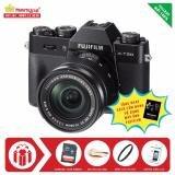 Máy ảnh Fujifilm X-T20 KIT 16-50mm OIS II (Đen) + Tặng kèm Thẻ nhớ Sandisk 16Gb 48Mb/s (320x) + Da cừu lau lens + Kính lọc Filter + Miếng dán LCD + Sách Cẩm nang sử dụng máy ảnh FujiFilm - Hàng nhập khẩu