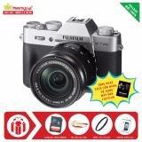 Máy ảnh Fujifilm X-T20 KIT 16-50mm OIS II (Silver) + Tặng kèm Thẻ nhớ Sandisk 16Gb 48Mb/s (320x) + Da cừu lau lens + Kính lọc Filter + Miếng dán LCD + Sách Cẩm nang sử dụng máy ảnh FujiFilm - Hàng nhập khẩu