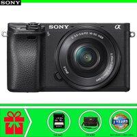 Máy ảnh Mirrorless Sony Alpha A6300 Kit 16-50mm - Tặng Thẻ SD 16GB và túi