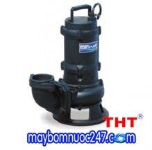 Máy bơm chìm nước thải rác gang đúc HCP 80AFP22.2 3HP có phao