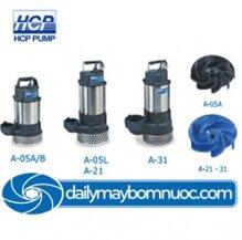 Máy bơm nước thải sạch 3 pha HCP A-31 1HP