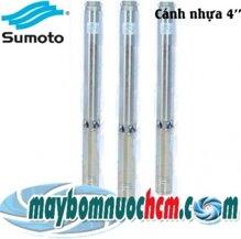 Máy bơm hỏa tiễn 4 inch cánh nhựa Sumoto 4SA4/10 1HP
