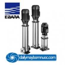 Máy bơm ly tâm trục đứng nhiều tầng cánh Ebara EVMS 20 11F5HQ1BEGE/15 - 20HP