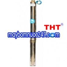 Máy bơm nước hỏa tiễn đầu đồng THT 4SM6-13/1.5 2HP