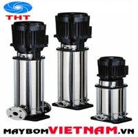 May bom truc dung nhieu tang canh buong bom vo bom bang inox 304 Ebara EVMSG3 4F5/0.37 0.5HP