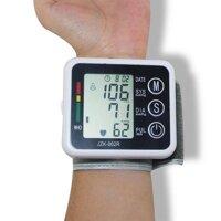 Máy đo huyết áp bắp tay Đo huyết áp tại nhà May do huyet ap co tay May do nhip tim đeo tay áp xanh lá SNS01 dòng cao cấp Tặng phiếu bảo hành 1 năm Toàn quốc