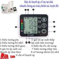 Máy đo huyết áp điện tử bắp taycổ tay(mẫu mới 867tốt nhất) mua ngay May do huyet ap co tay Máy đo huyết áp  cao cấp BH uy tín bởi techdigital