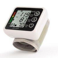 May do huyet ap Máy đo huyết áp điện tử Máy đo huyết áp tự động  Máy đo nhịp tim- Máy đo huyết áp cổ tay cao cấp Chính xác + TẶNG KÈM HỘP ĐỰNG