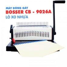 Máy đóng sách gáy xoắn nhựa Bosser CB-9026A