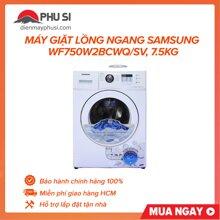 Máy giặt Samsung WF750W2BCWQ/SV(WF-750W2BCWQ) - Lồng ngang, 7.5 Kg