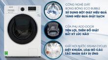 Máy giặt Samsung Addwash WW10K54E0UW/SV - inverter, 10kg