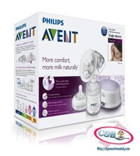 May hut sua Philips AVENT SCF332/01 bang dien va pin