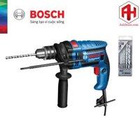 May khoan dong luc Bosch GSB 13 RE + Bo 5 mui khoan da dung