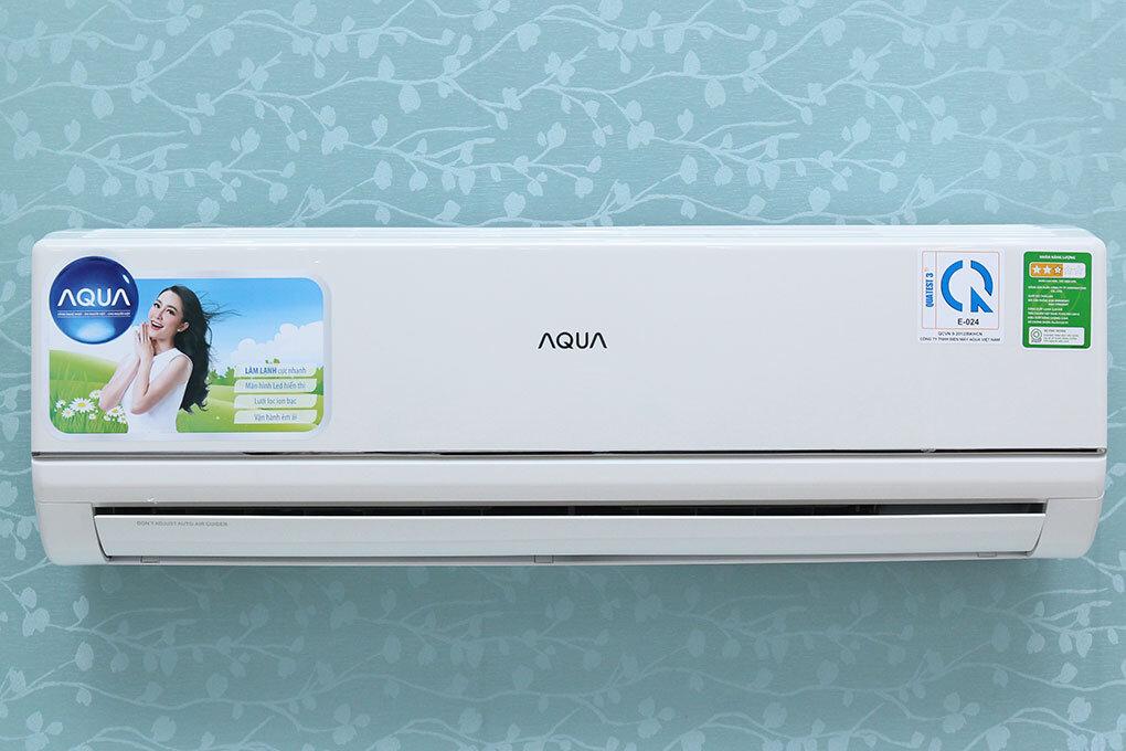 Điều hòa - Máy lạnh Aqua AQA-KC12BGES8T - Treo tường, 1 chiều, 12000 BTU, inverter