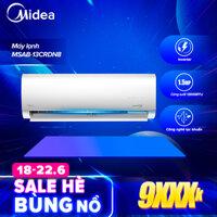 Máy Lạnh Inverter 1.5HP Midea MSAB-13CRDN8 (Điều Hòa Một Chiều Tiết Kiệm Điện Làm Lạnh Nhanh Lọc Bụi) - Hàng Phân Phối Chính Hãng Bảo Hành Tại Nhà 3 Năm Toàn Quốc LazadaMall