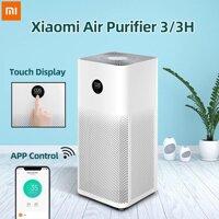 Máy lọc không khí Xiaomi Air Purifier 3 | 3H lọc siêu bụi mịn 0.3μm bao gồm hạt PM 25  khử mùi - Bản quốc tế - Bảo hành 12 tháng [bonus]
