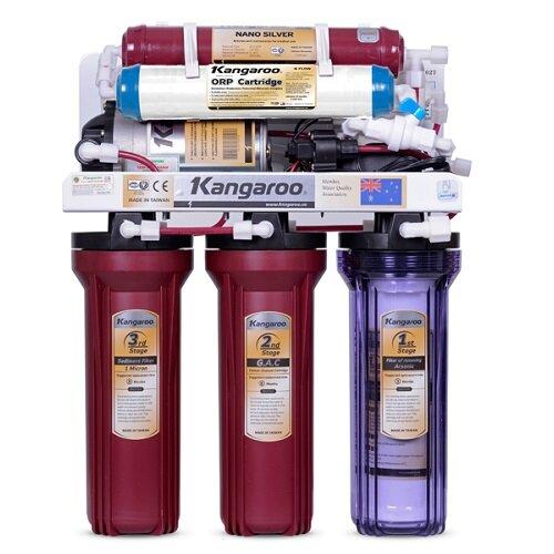 Máy lọc nước Kangaroo KG116NHIEMTU - 6 lõi, vỏ nhiễm từ