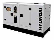 Máy phát điện Huyndai DHY-16KSE - chạy dầu diesel 3 pha