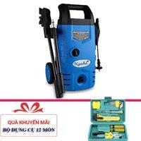 Máy phun xịt rửa xe cao áp Kachi 1400W + Tặng bộ dụng cụ 12 món