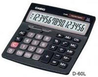Máy tính Casio D60L (D-60L)