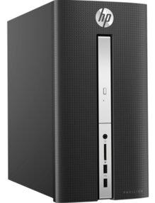 Máy tính để bàn HP Pavilion 570-p020l Z8H78AA - Intel Core i5-7400, RAM 8G, HDD 1T, Intel VGA 4GB