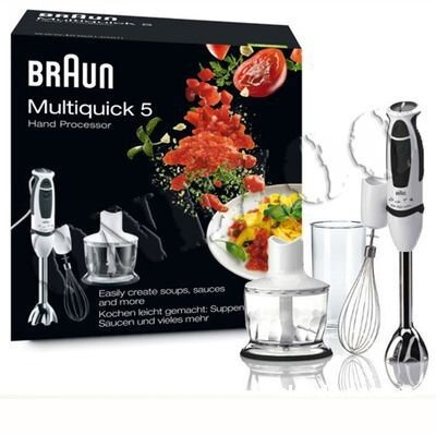 Máy xay cầm tay đa năng Braun MR530 (MR-530) Sauce - 600W